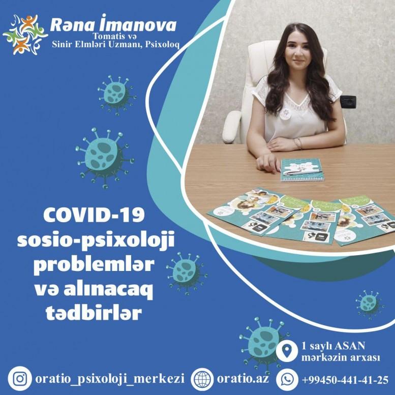 Covid-19 sonrası yarana biləcək sosio-psixoloji problemlər və alınacaq tədbirlər